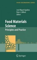 Food Materials Science : Principles and Practice